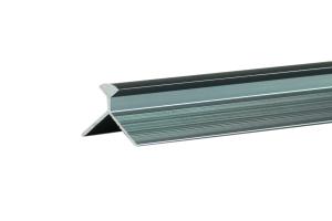 原色拉丝铝型材阴角线