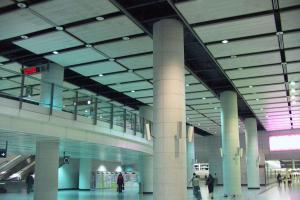 机场过道吊顶铝单板