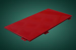 红色氟碳喷涂铝单板