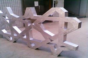 麻花造型铝单板