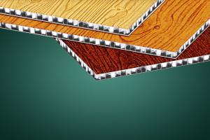 木纹复合铝蜂窝板