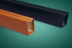凹槽型材铝方通吊顶