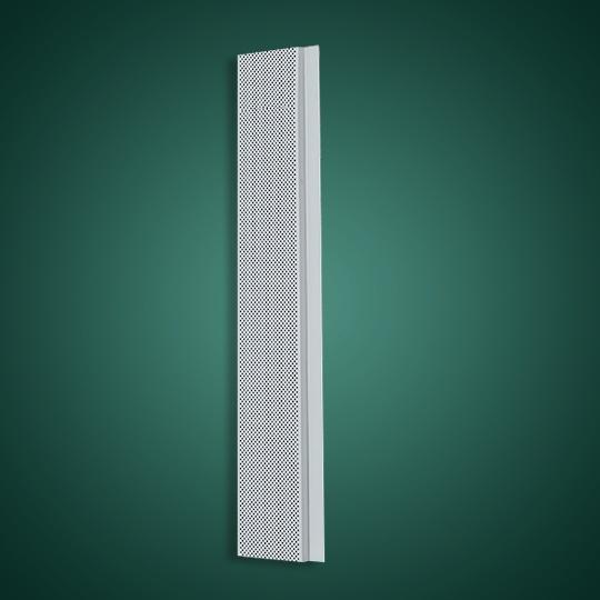 200面宽冲孔G形有缝铝条扣
