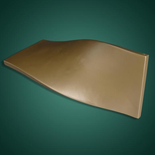 金色扭曲铝单板
