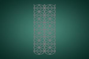 雕刻铝板花型