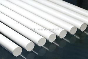 白色铝圆管型材
