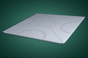 花式冲孔铝扣板天花