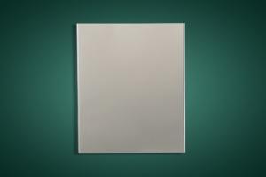 白色S形高边防风铝条扣