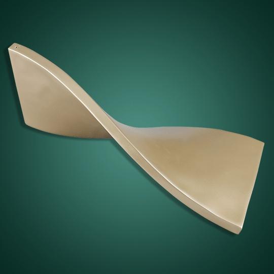 扭曲扁条铝单板
