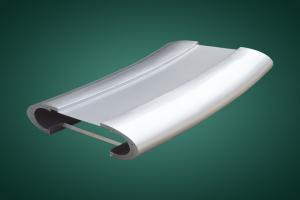 弧形铝单板扶手