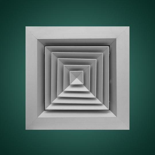 宽边方形散流器