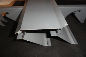 防雨铝百叶叶片细节