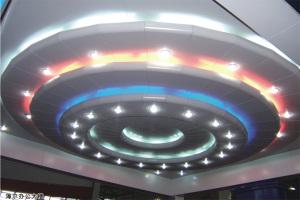 弧形铝单板灯槽