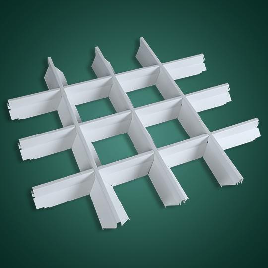 白色V形铝挂片