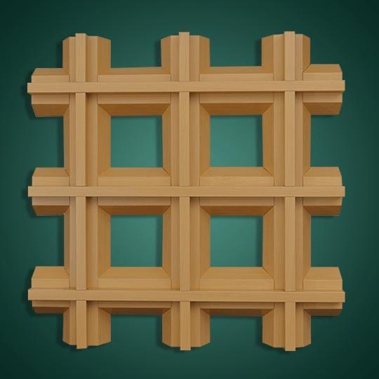 V形凸槽铝合金格栅