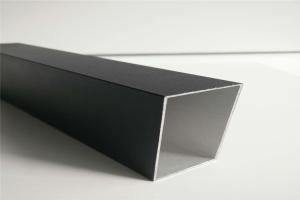 黑银色铝四方管