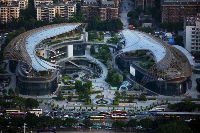 广州花城汇室内铝板项目