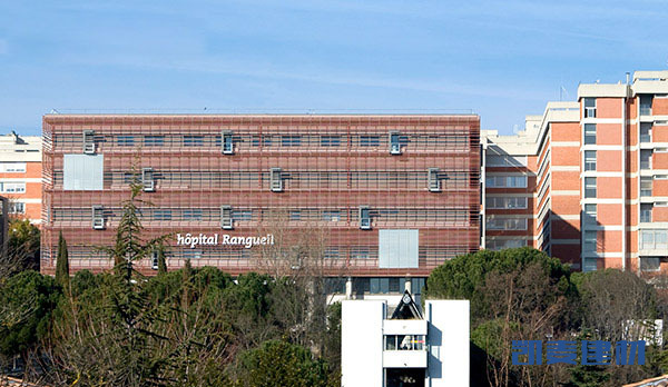 图卢兹Rangueil医院铝板装饰项目