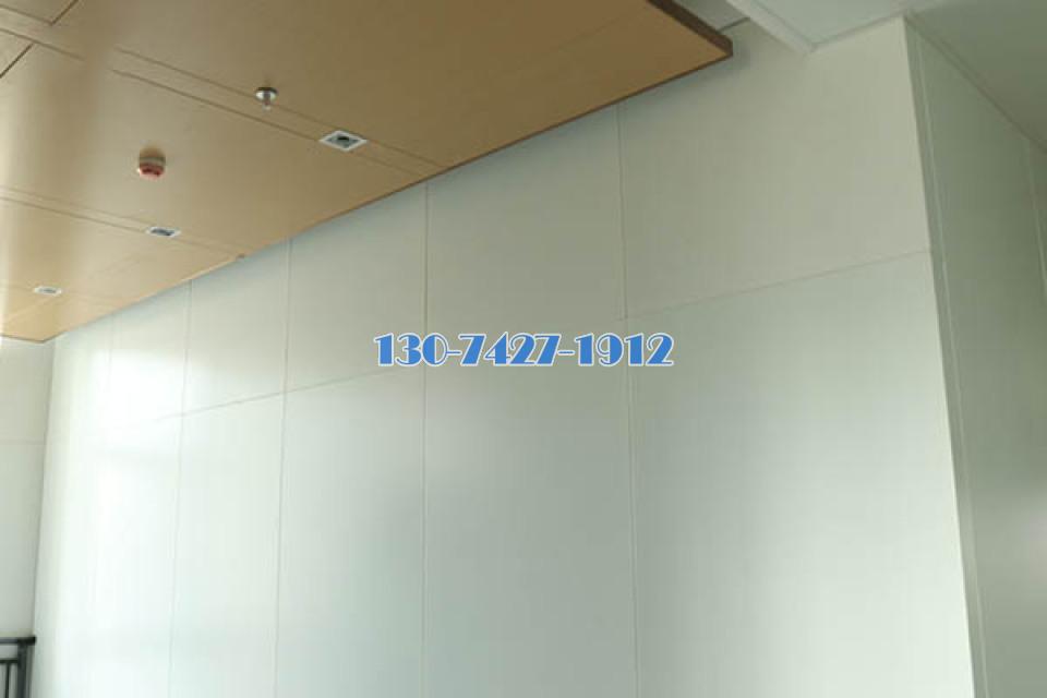 吊顶木纹铝单板、白色烤漆铝单板