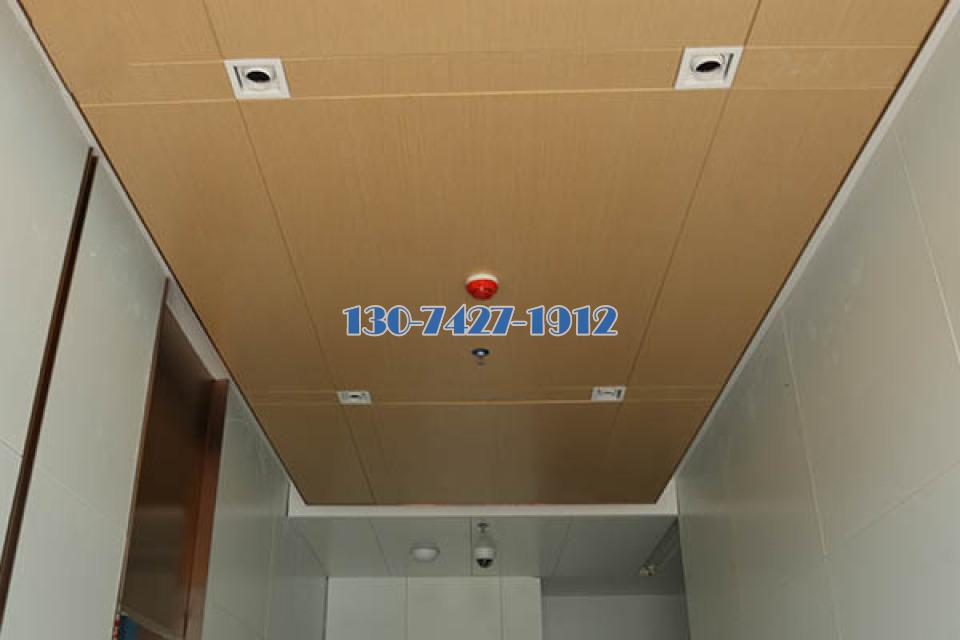 走廊过道木纹吊顶铝单板