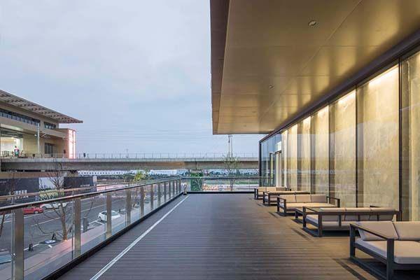 氟碳铝单板装饰售楼中心天花