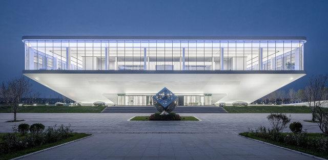 保定深圳高新科创产业园展示中心外墙铝单板
