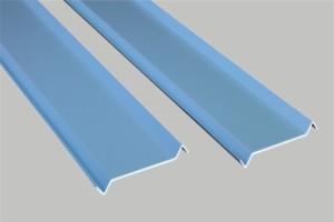 S型蓝色铝挂片
