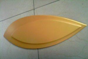 金色叶子造型铝单板