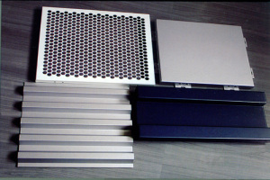 铝单板各种造型