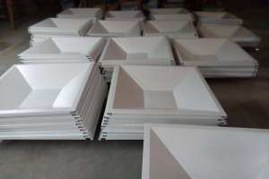 梯形组合铝扣板