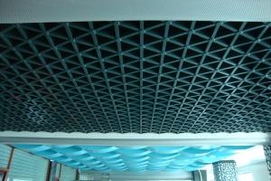 机场吊顶铝格栅