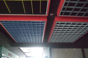 铝格栅展厅