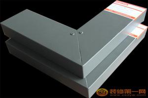 铝方管型材开45度角铆在一起